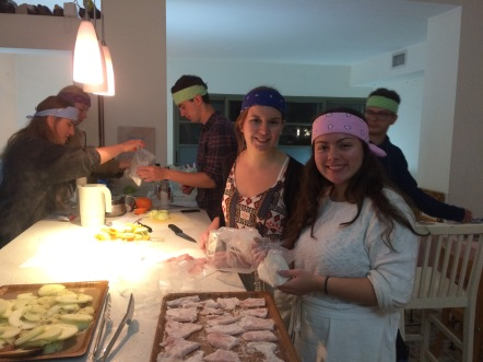 "Part of the study program: ""Israeli Kitchen Adventure"""